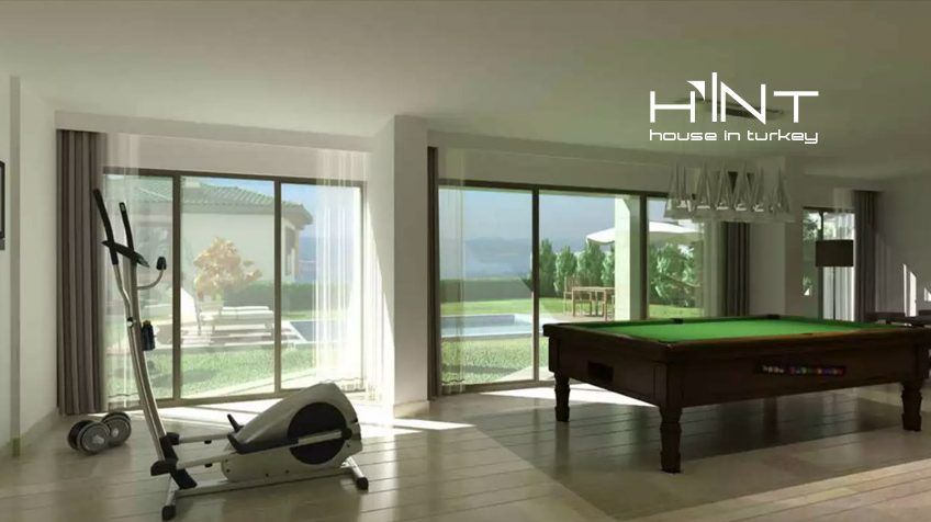Ultra Luxury Villa For Sale In Sapanca With Lake View