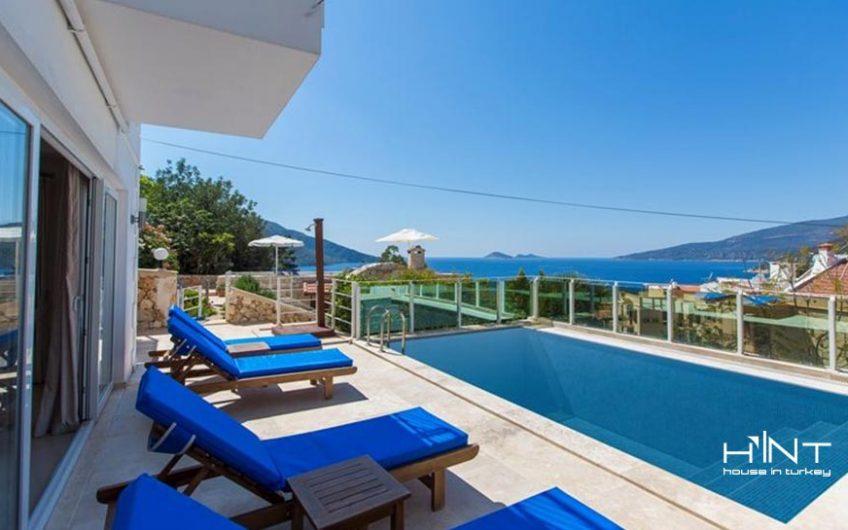 Sea View Villa Built Of Natural Stone