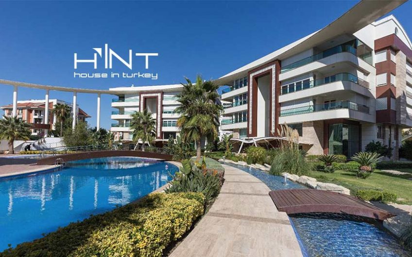 Deluxe Penthouse Apartment For Sale In Antalya