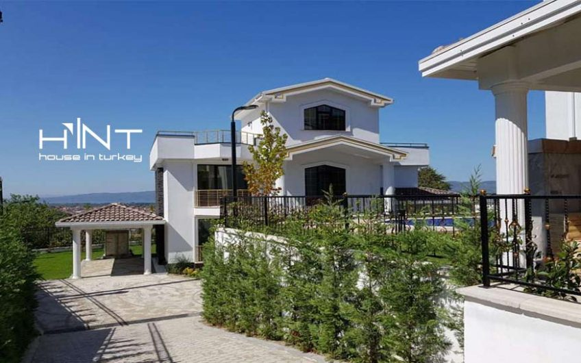 Luxury Villas For Sale In Sapanca Kurucesme With Nature And Lake View